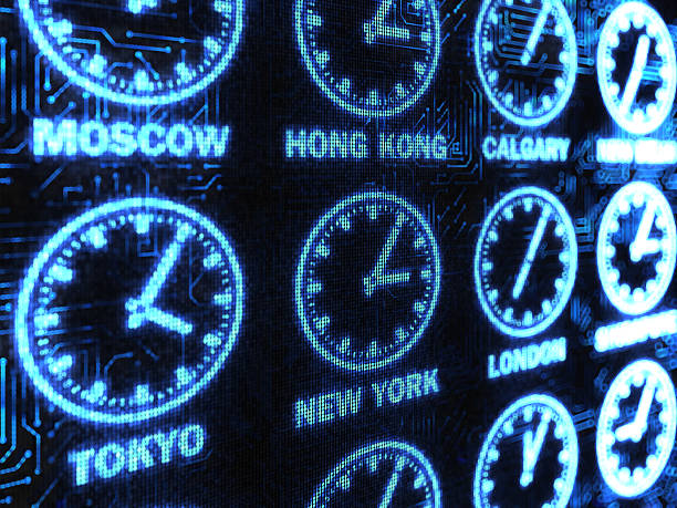 International Time background  time zone stock pictures, royalty-free photos & images