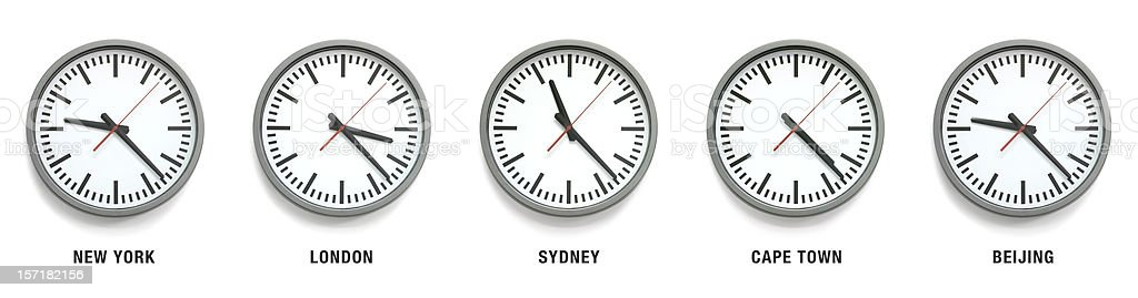 International Time royalty-free stock photo