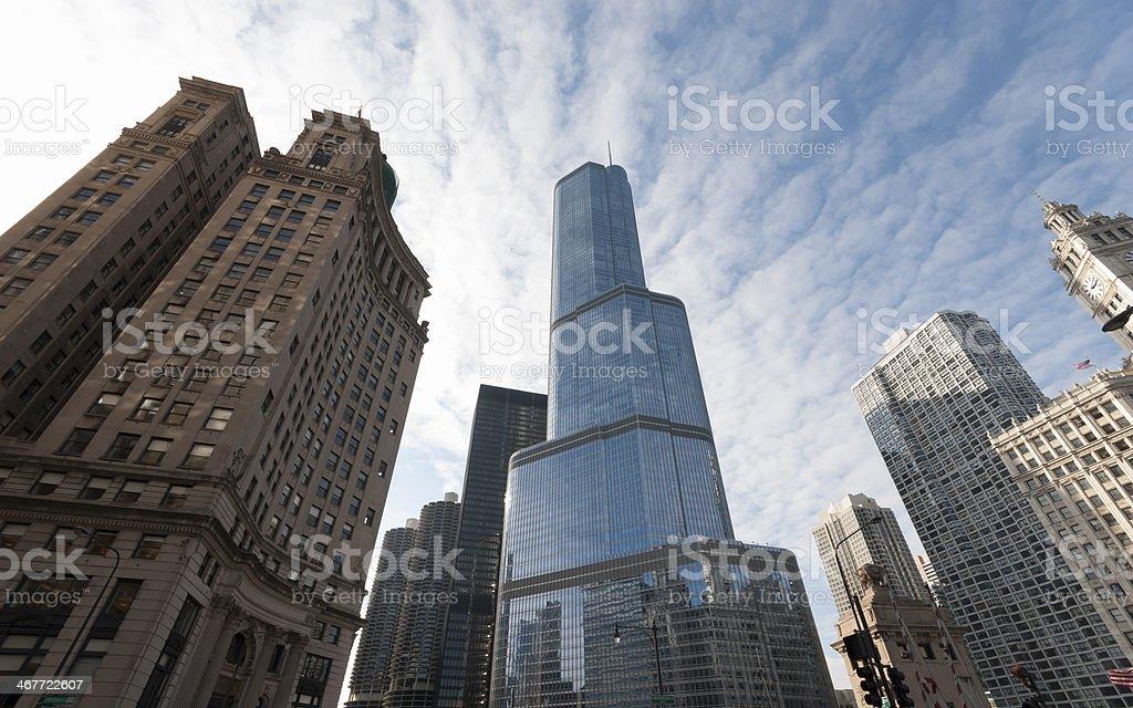 International Tower skyscraper in Chicago stock photo