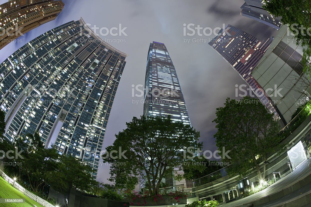 International Commerce Centre is the tallest building in Hong Kong.