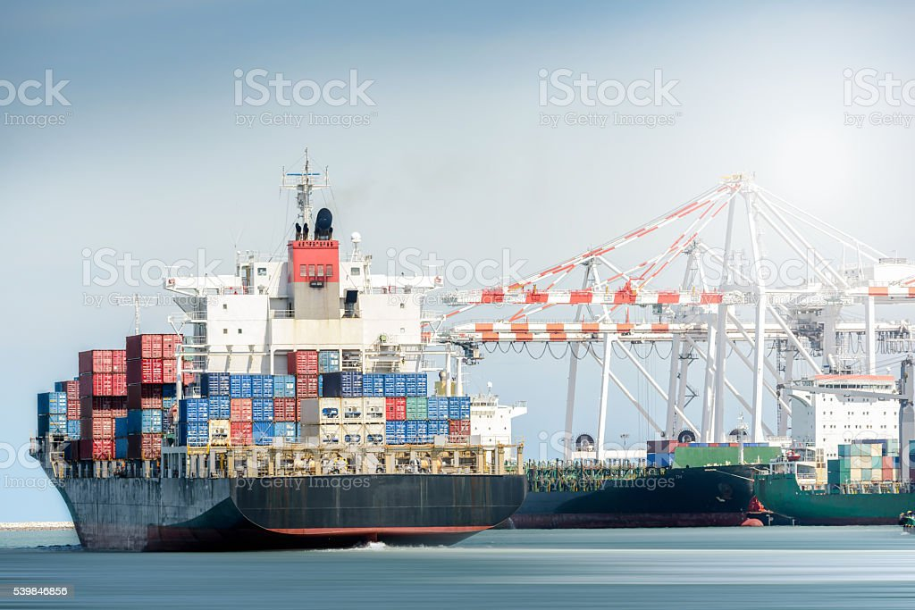 International Transportation Shipping, Container Cargo freight ship...