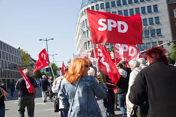international worker's day-demonstration – Foto
