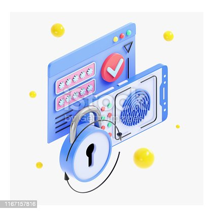 istock Interne Security and Authentication Concept 1167157816