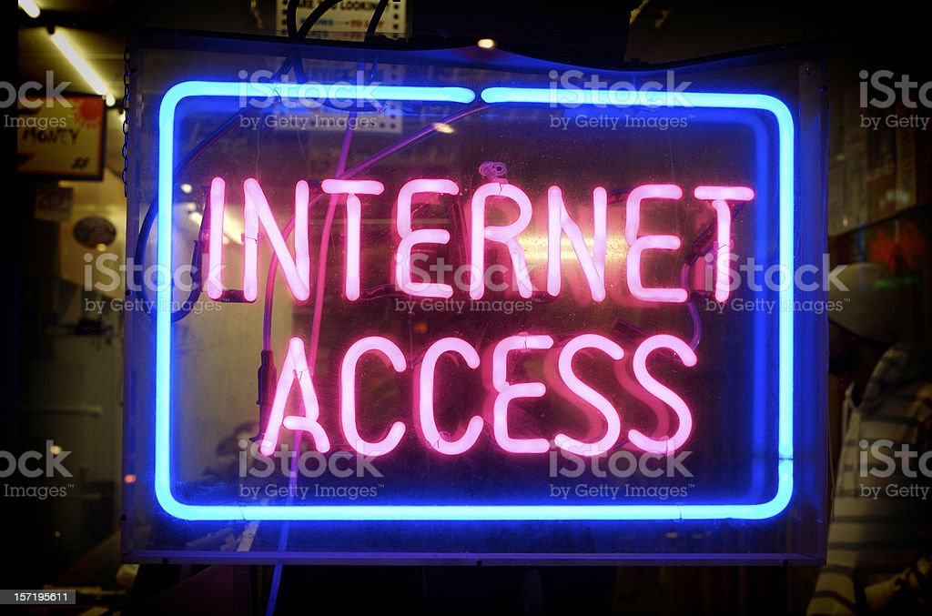 internet access royalty-free stock photo