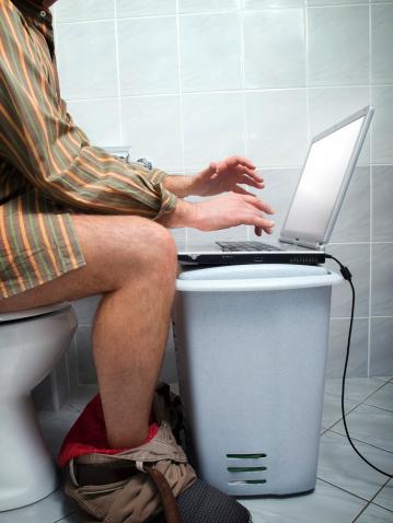 Internet Addict Stock Photo - Download Image Now