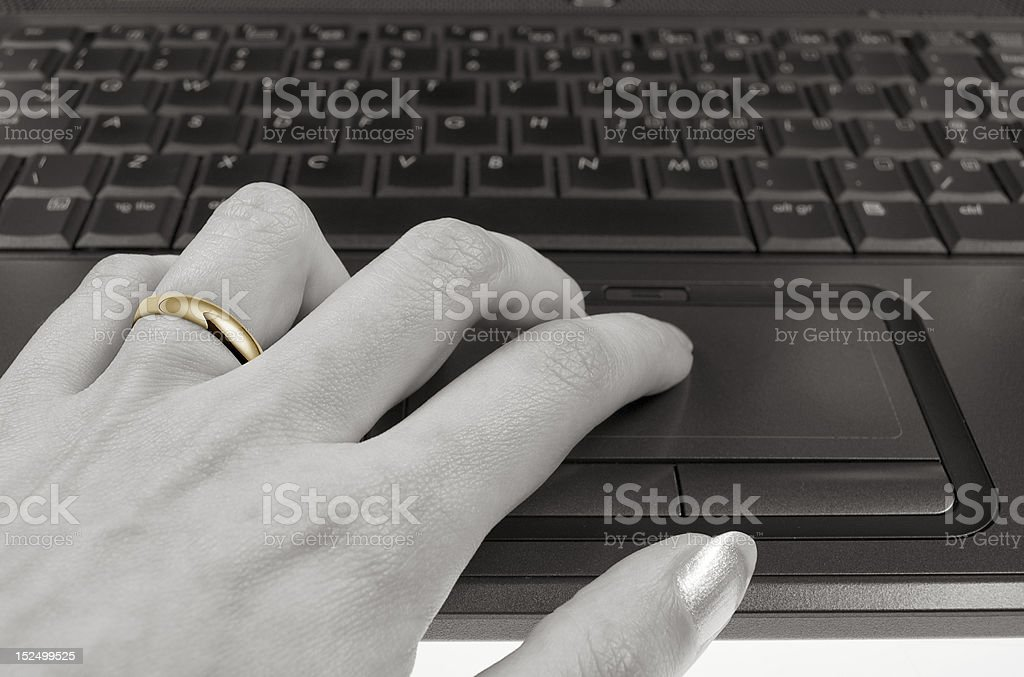Internet affair stock photo