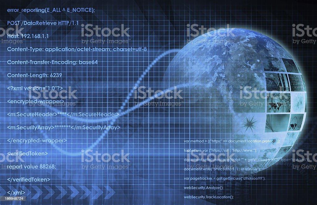 Internet Background stock photo