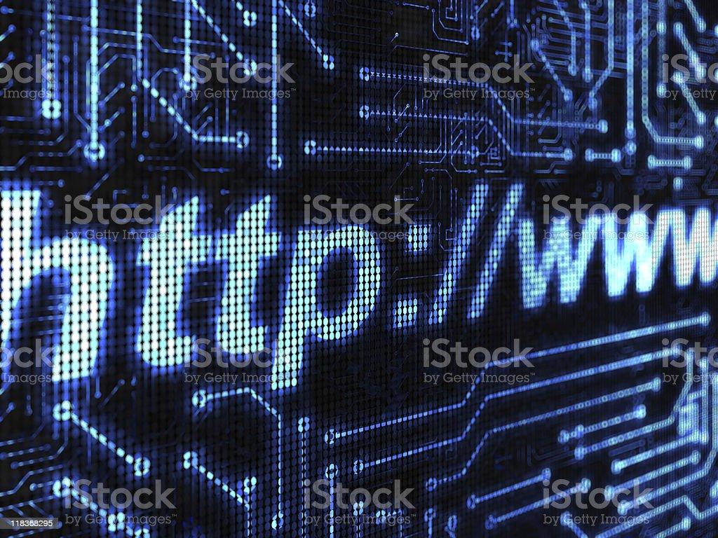 Internet backround royalty-free stock photo