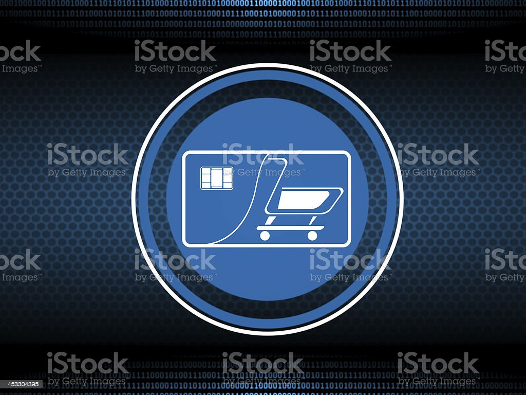 Internet buy and shopping royalty-free stock photo
