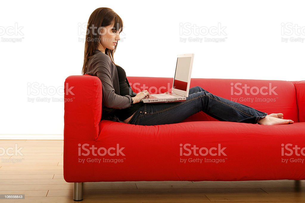 Internet Chat royalty-free stock photo