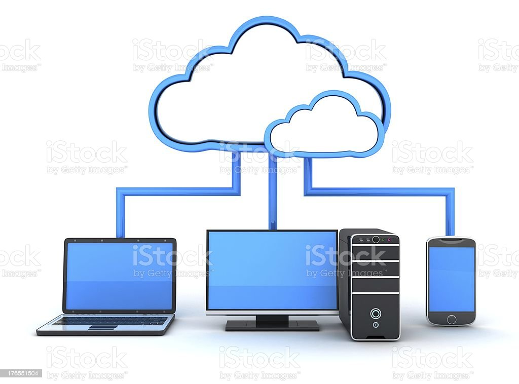 Internet cloud-Konzept – Foto