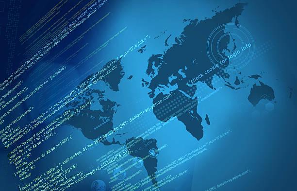 internet coding stock photo
