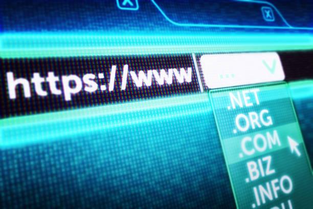 Internetkommunikation und globales Computernetzwerk-Hosting-Konzept – Foto
