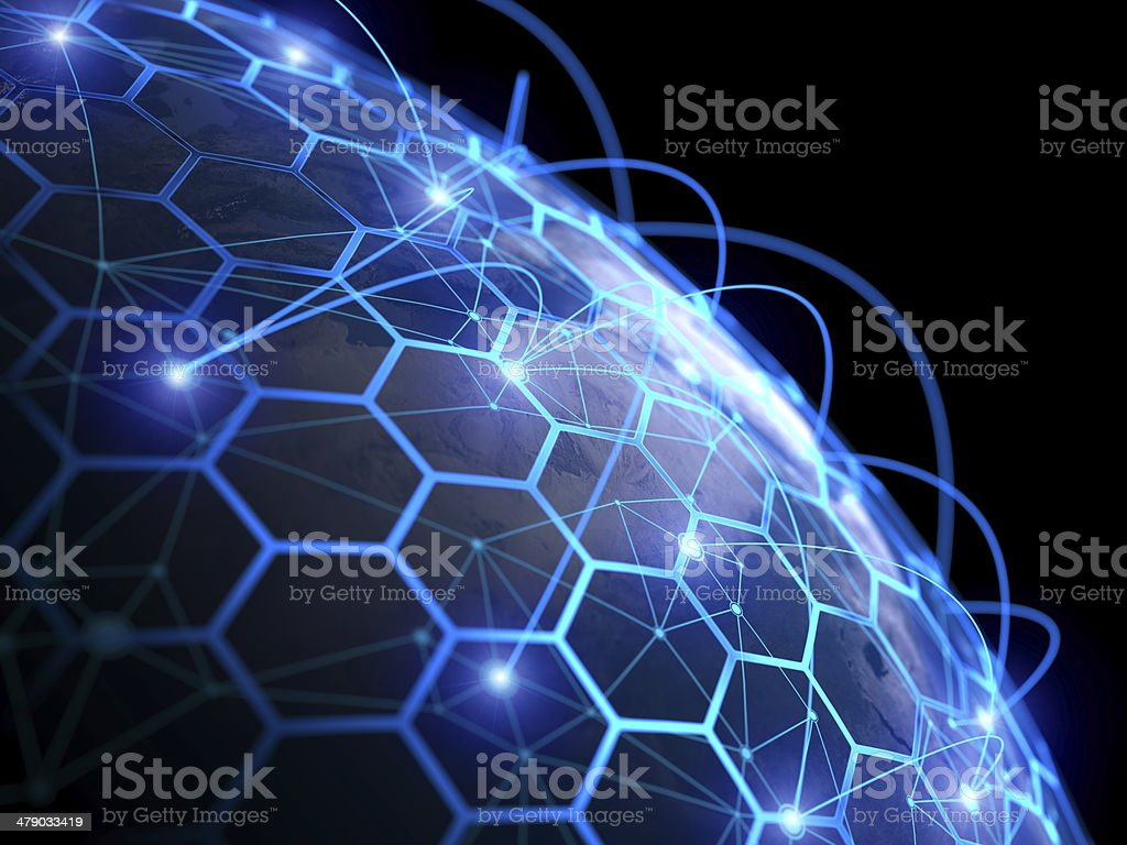 Internet communication digital concept stock photo