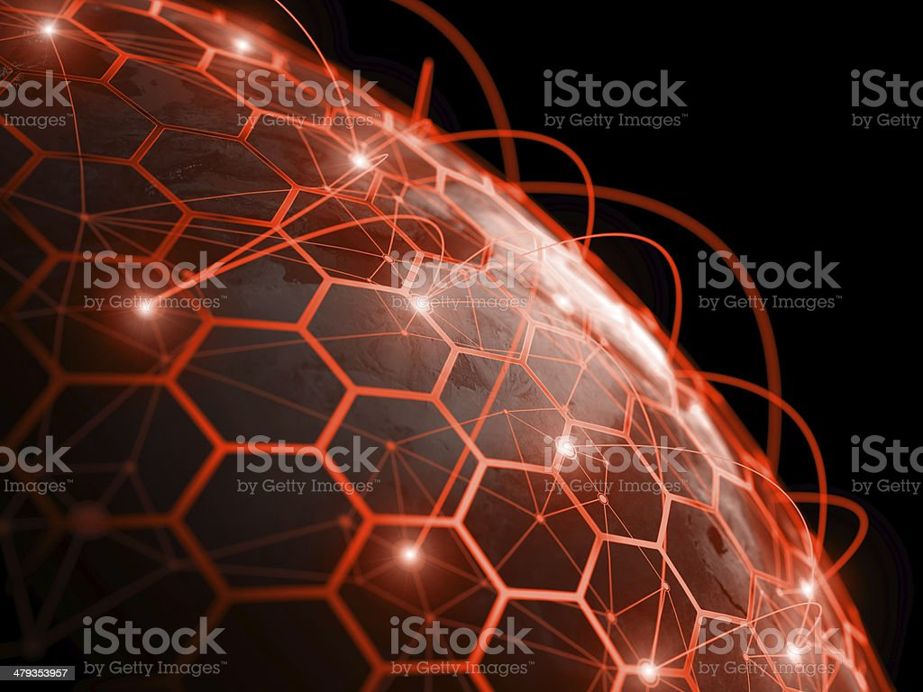 Internet communication digital concept royalty-free stock photo