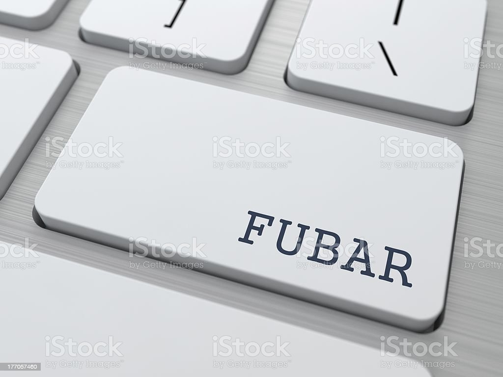 FUBAR. Internet Concept. royalty-free stock photo