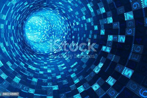 673622922istockphoto Internet connection, information medium and data communication stream concept 590248882