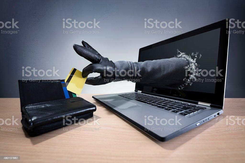 Internet-Kriminalität und Onlinebanking Sicherheit – Foto