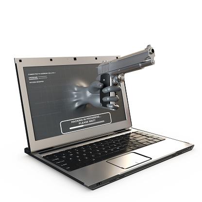 인터넷 범죄 개념 3차원 형태에 대한 스톡 사진 및 기타 이미지