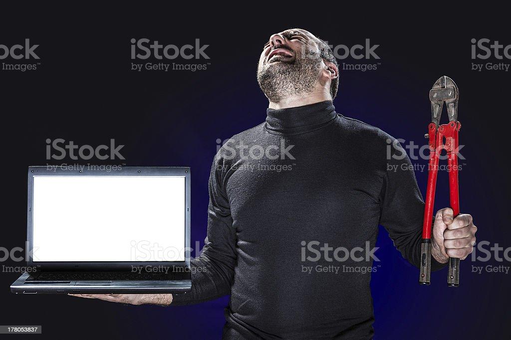 Internet Crimes royalty-free stock photo