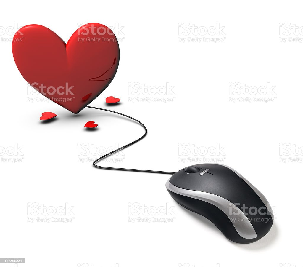 internet dating royalty-free stock photo