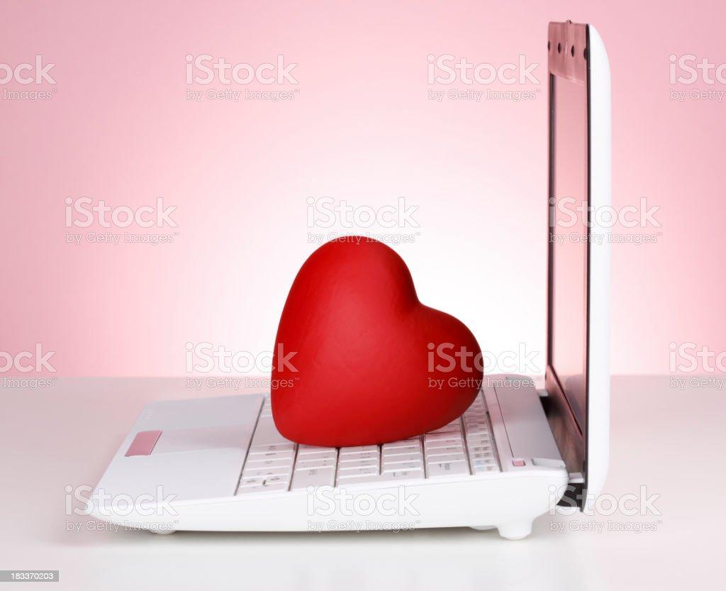 Internet Dating stock photo