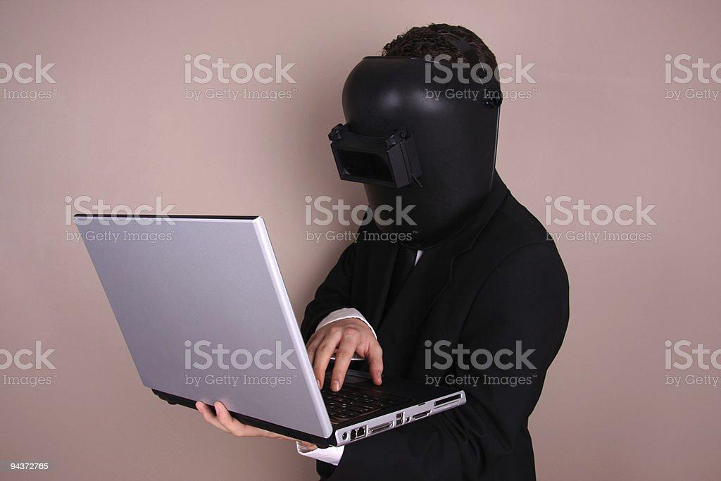 Internet Defender royalty-free stock photo
