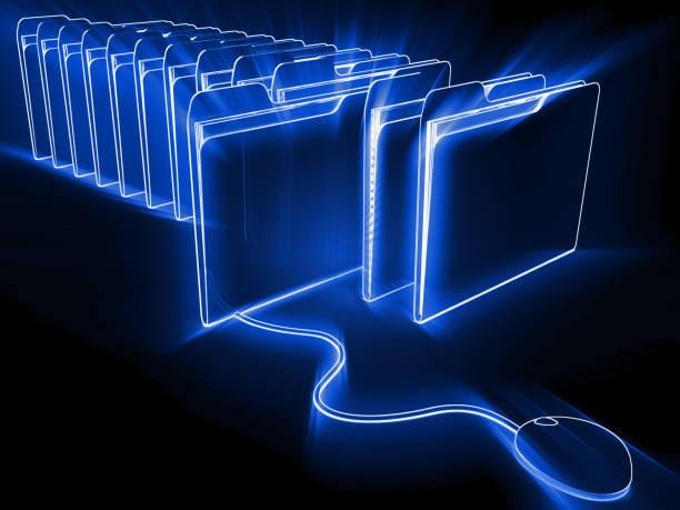 Internet-Datei Ordner big-Data-Suche – Foto