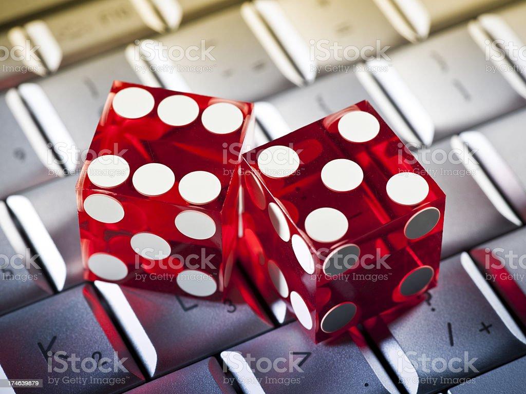 Internet gambling royalty-free stock photo