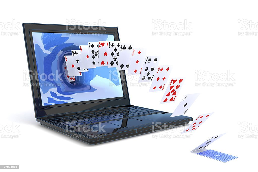 JEUX Internet photo libre de droits
