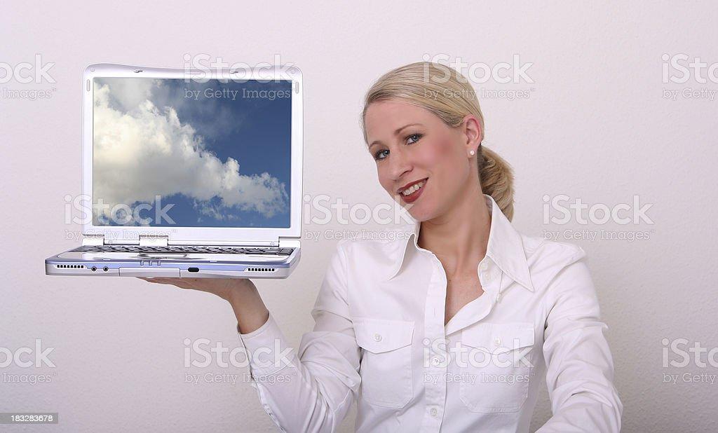 Internet is easy stock photo