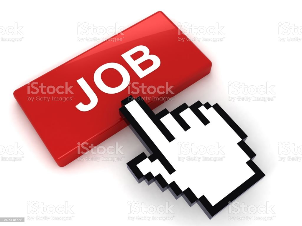 internet job search concept stock photo