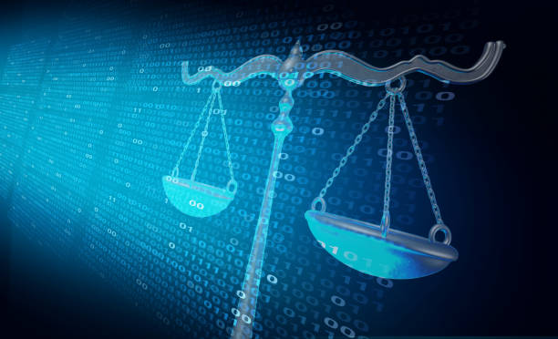 Internet Law stock photo