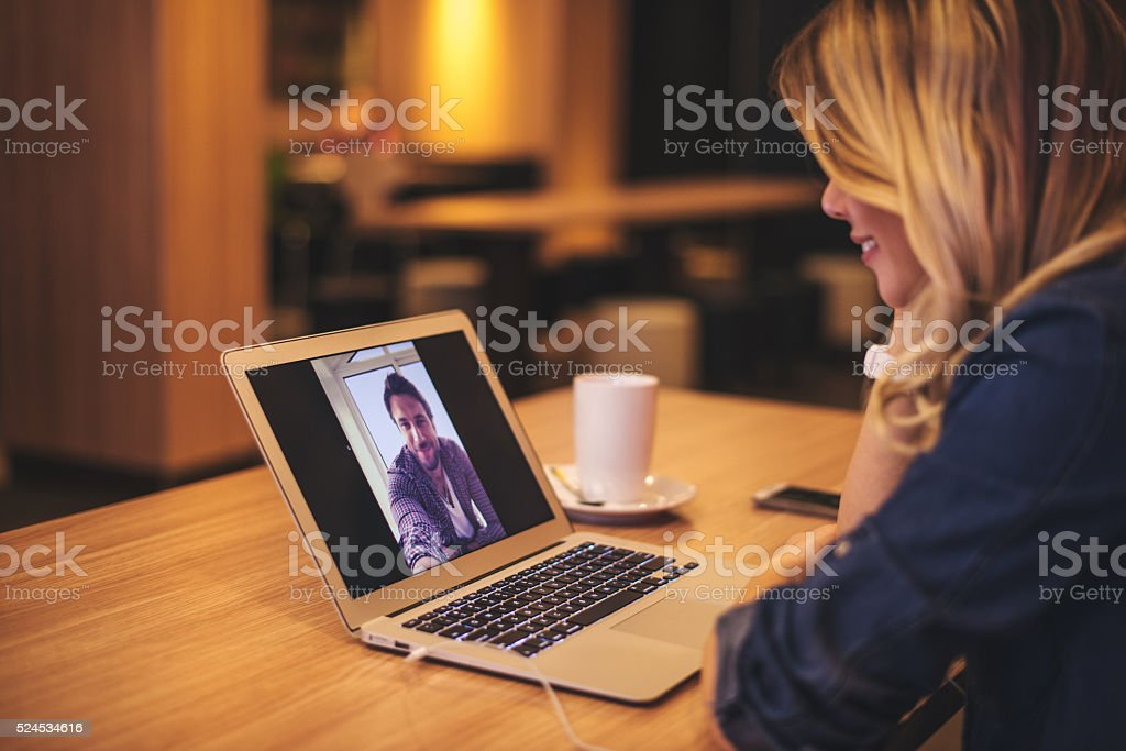 Internet lifestyle stock photo