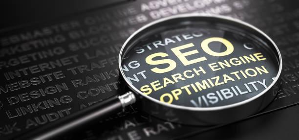 Internet Marketing und Web Analytics. Seo Suchmaschinenoptimierung. – Foto