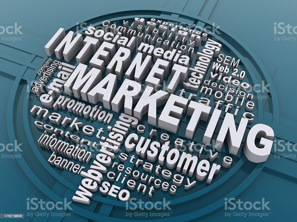 internet marketing royalty-free stock photo