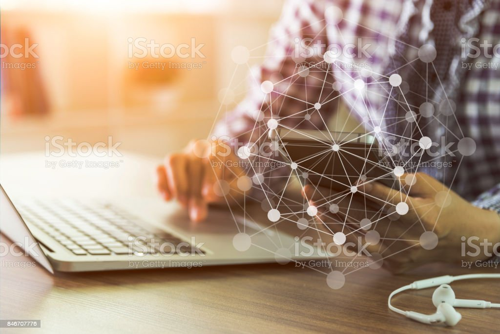 internet network stock photo