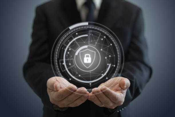 Schutz der Internet-Netzwerk-Sicherheit – Foto