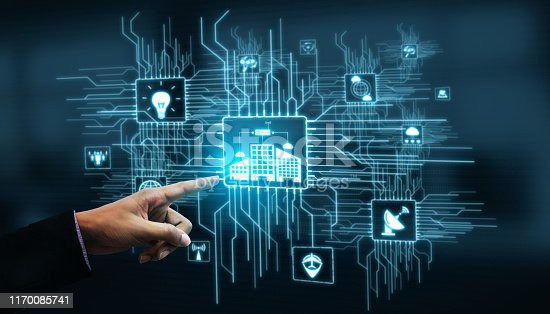 istock Internet of Things and Communication Technology 1170085741