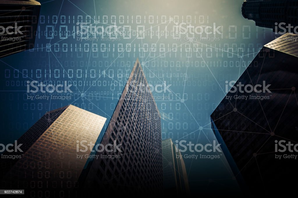 Internet of Things Concept - IoT stock photo