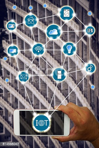 istock Internet of things (IOT) concept 814568042