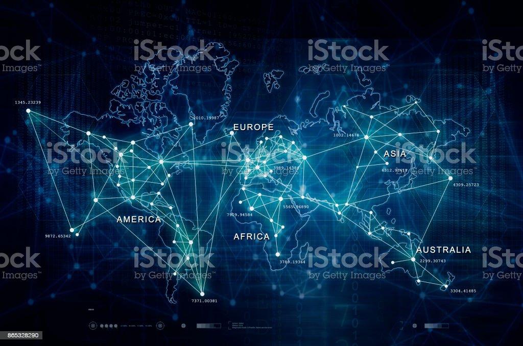 Internet of Things illustration stock photo