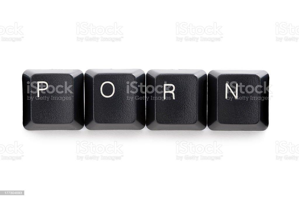 internet online cyber porn stock photo