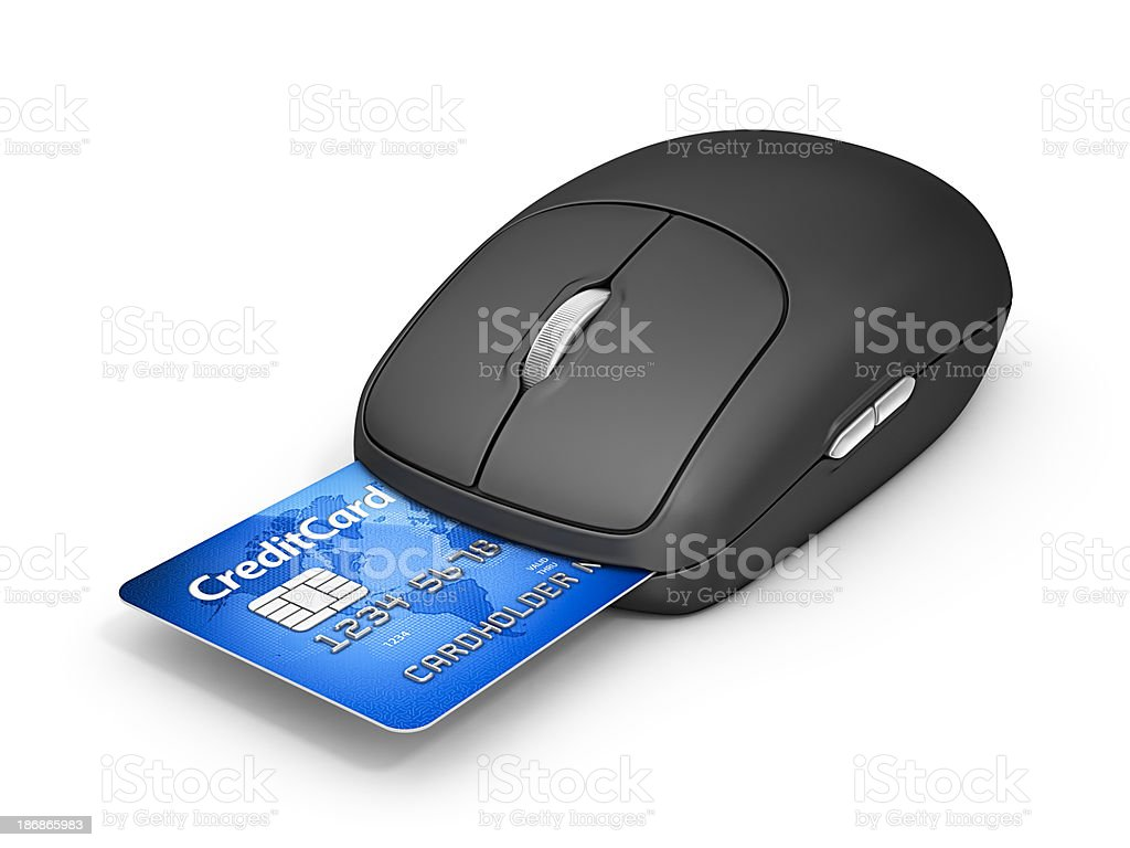 internet payment royalty-free stock photo