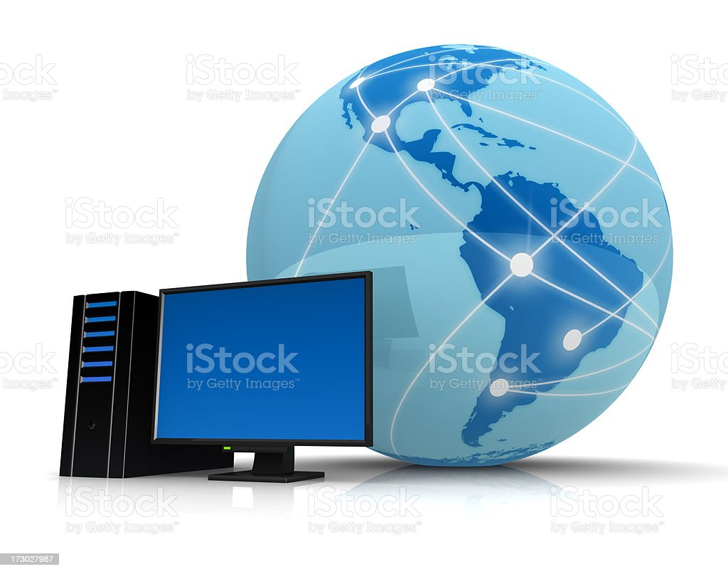 Internet PC royalty-free stock photo