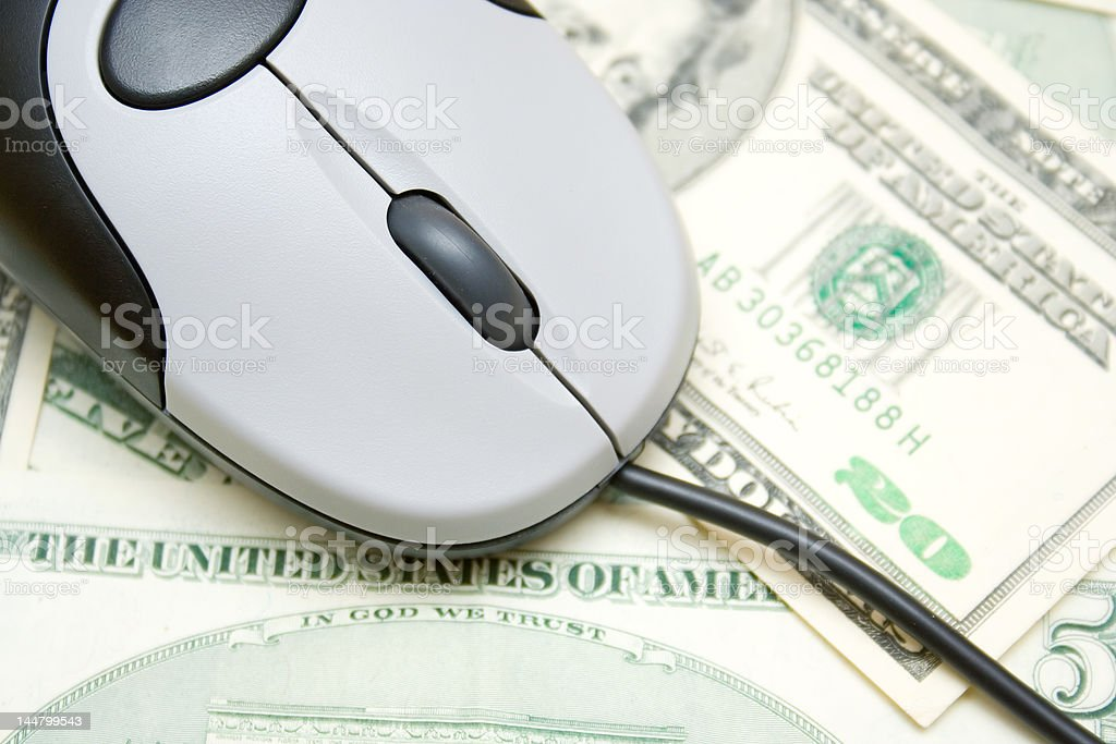 Internet purchase royalty-free stock photo
