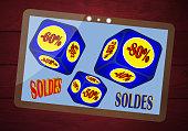 istock Internet sales  Business sales Marketing 1290819557