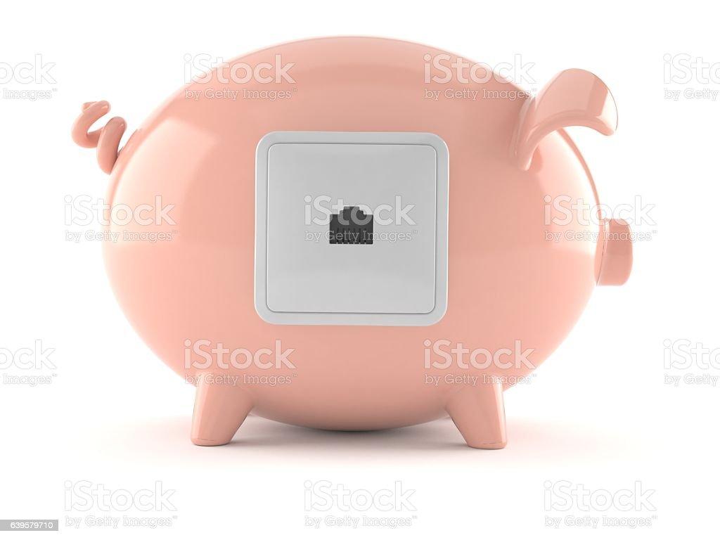 Internet savings stock photo