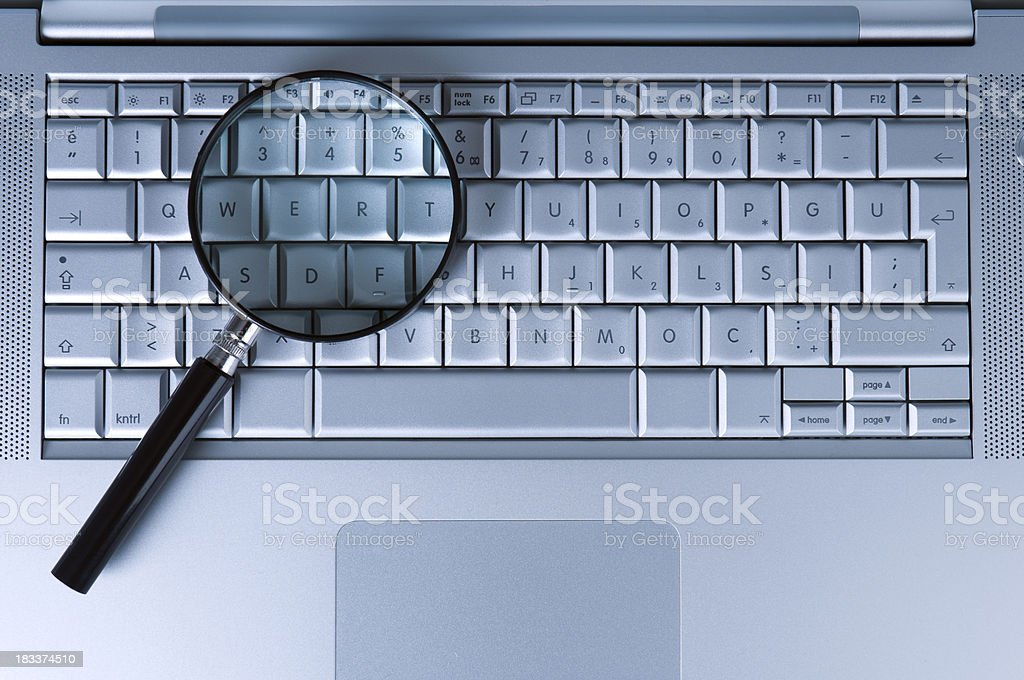 internet searching royalty-free stock photo