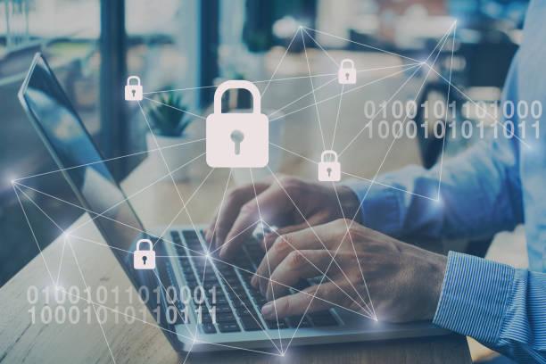Internet-Sicherheits- und Datenschutzkonzept – Foto